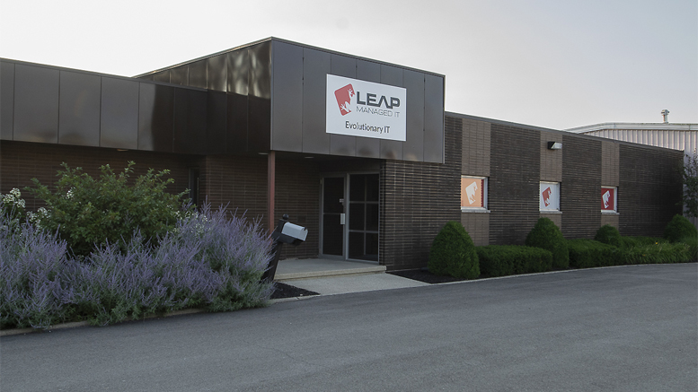 The offices of Leap Managed IT in Muncie. Photo by: Mike Rhodes