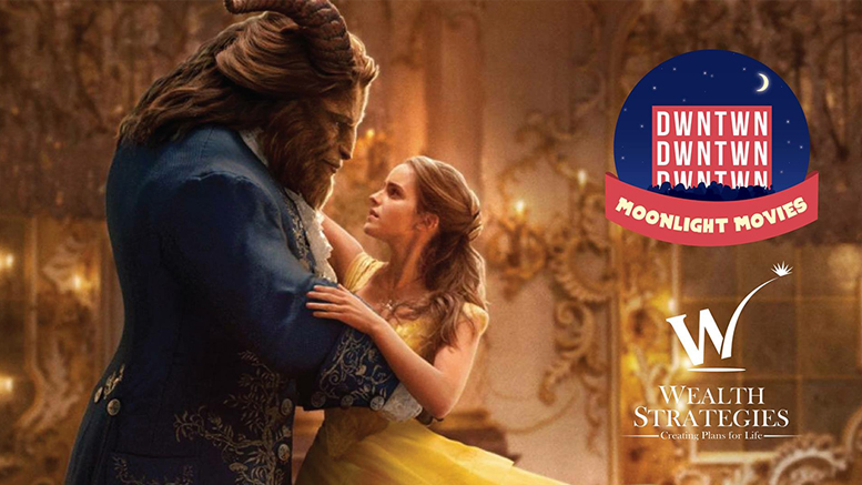 Beauty And The Beast will be shown on July 21st at Canan Commons. Photo provided.