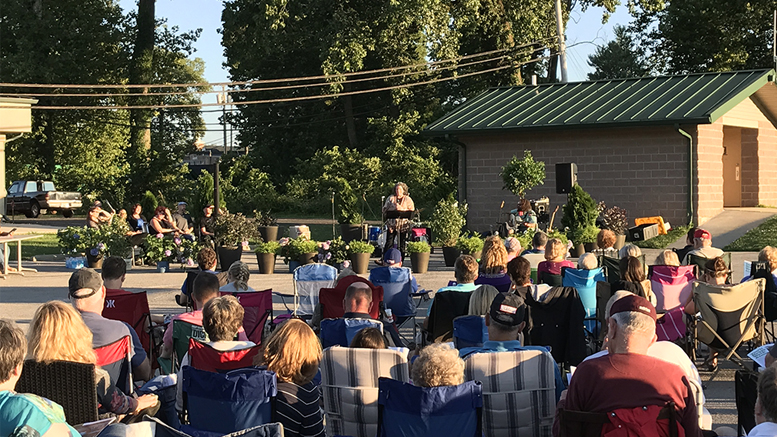 A story performance from the inaugural A Midsummer Night's Narrative Storytelling Festival. Photo provided.