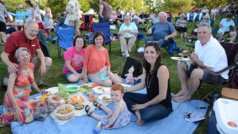 FREE Community Event. Celebrate America's independence with lively music, bright fireworks, and an evening of fun at Minnetrista. Photo provided.