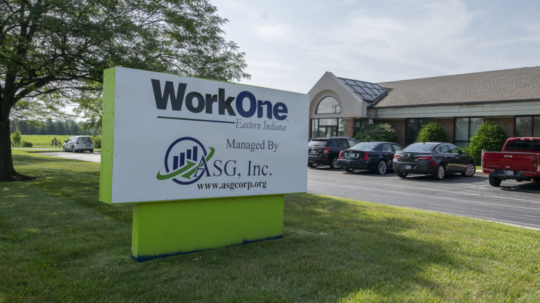 WorkOne Center located at 3301 W. Purdue Ave, Muncie, IN 47304. Photo by: Mike Rhodes