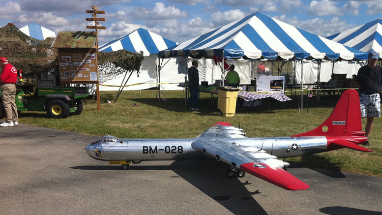 A scene from a past Indiana Warbird Campaign at AMA. Photo provided.