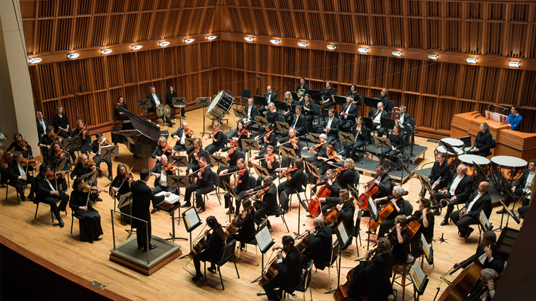 The Muncie Symphony Orchestra. Photo provided.