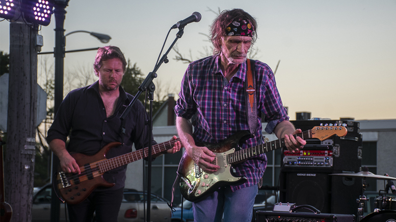 Henry Lee Summer performing at the Gaston Street Festival Saturday evening. Photo by: Mike Rhodes
