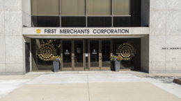 First Merchants Corporation, 200 E. Jackson Street, Muncie. Photo by: Mike Rhodes