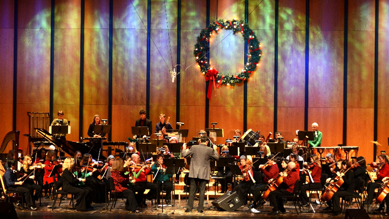 The Fisher/Shafer Holiday Pops Concert will take place on  Saturday, December 1 at 4pm.