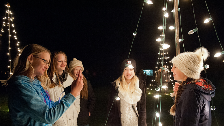 Enchanted Luminaria Walk at Minnetrista takes place on Nov 30th and December 1. Photo provided.