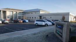A portion of Meridian Health Services campus on Tillotson Avenue in Muncie is pictured. Photo by: Mike Rhodes