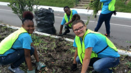 The Community Foundation uses unrestricted funds to support the Quarterly Competitive Grants program and responds to current community needs. Pictured, students work to beautify the city to gain work experience and earn a paycheck through TeenWorks' Summer Employment Program. The Foundation has supported this and other programs through TeenWorks since 2014. Photo provided
