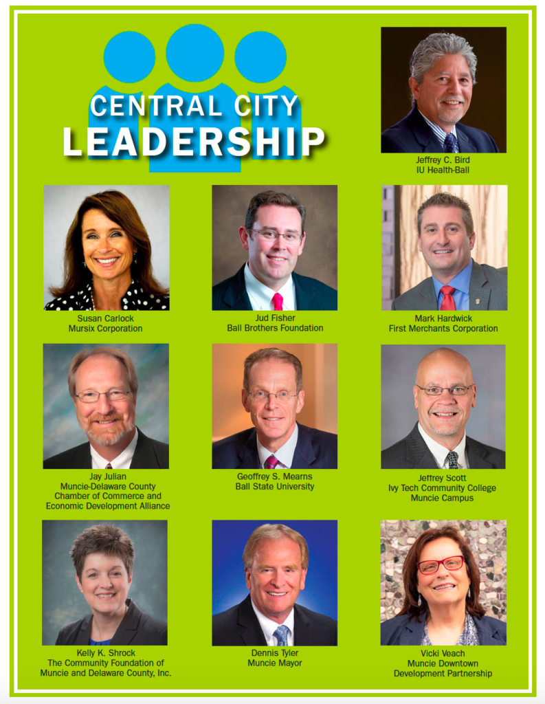 Members of the Central City Leadership Team. Photo courtesy of Alliance Magazine.