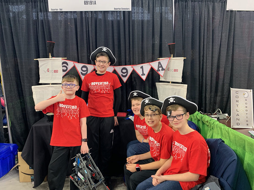 Royerton Robo Pirates. Photo provided