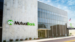 MutualBank is located at 110 E Charles Street in downtown Muncie.