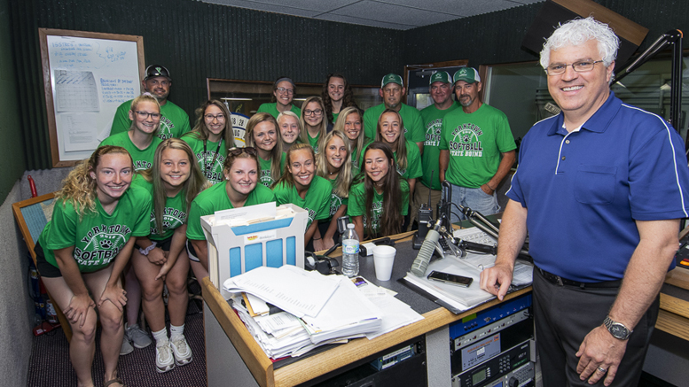 The Yorktown Varsity Softball Team is heading to a state championship on Saturday. Photo by: Mike Rhodes