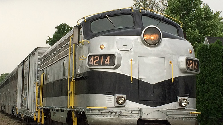 The Nickel Plate Express is an impressive-looking train. Photo by: Nancy Carlson
