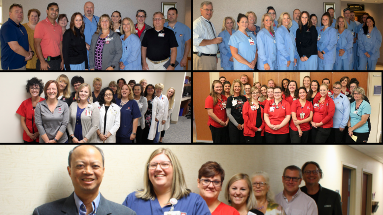 The comprehensive cardiovascular team at IU Health Ball Memorial Hospital is pictured. Photo provided