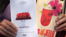 Books' covers hint at Jell-O's limitless appeal. Photo by: Nancy Carlson