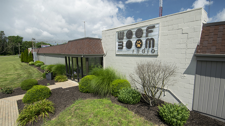 The offices of Woof Boom Radio, LLC located at 800 E. 29th Street in Muncie, IN. Photo by: Mike Rhodes