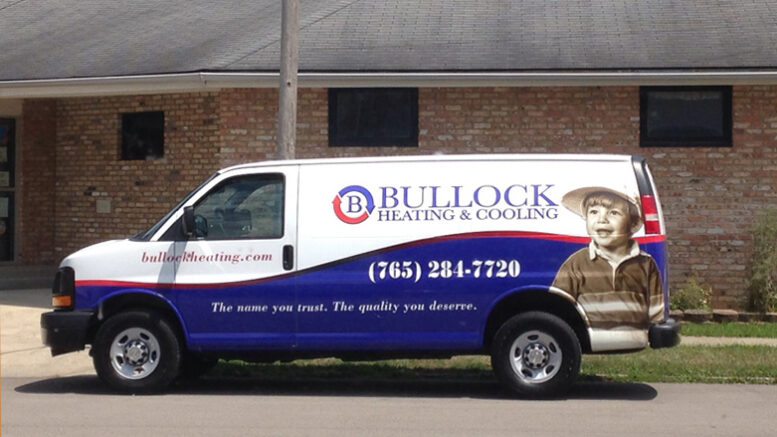 Bullock Heating and Cooling is located at 120 S Broadway St.in Albany, IN. Photo provided