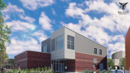 Artist Rendering of the new Multicultural Center. Illustration provided