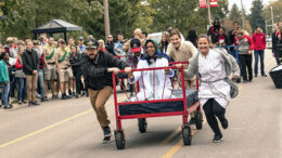 What could be more fun than watching the 40th annual bed race? Photo provided