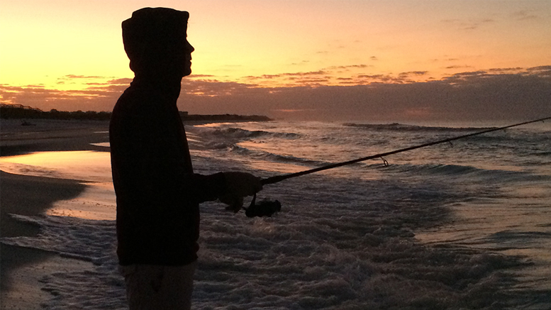 Gulf Coast fishing at dawn can be an exercise in beauty. Photo by: Nancy Carlson