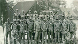 Historical photo courtesy of The Delaware County Veterans Affairs Office.