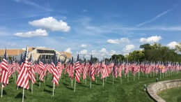 Flags of Honor. Photo provided