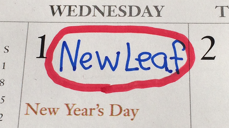 New Leaf Day promises big changes, even more whistling. Photo by: Nancy Carlson