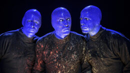 Blue Man Group as photographed by Lindsey Best.