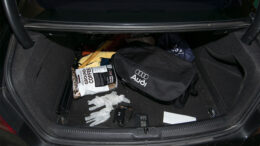 Clean your car. Dispose of leftovers and edibles, trash, masks, and gloves. Photo by: Mike Rhodes
