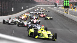 We're all waiting until August to see this fine sight again. Photo provided by Indianapolis Motor Speedway