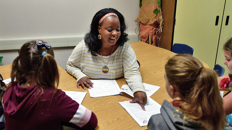 Aiesha Allen, Interventionist at West View Elementary, has completed advanced training in the Orton-Gillingham approach. Aiesha's training has allowed her to better support student learning and will enable her to train fellow teachers across Muncie Community Schools. Photo provided