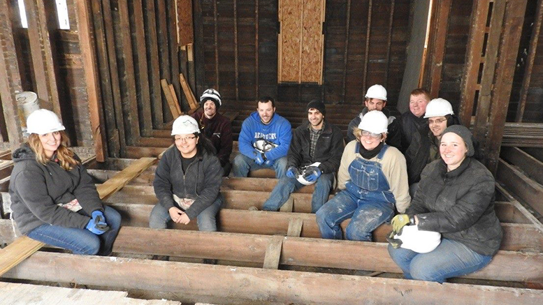 0 lucky students like these can receive a FREE sixteen week program focused on carpentry, electrical, HVAC, masonry, and plumbing. Photo provided.
