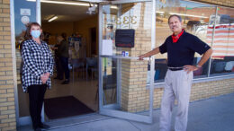 Kent Thomas welcomes you to Thomas Business Center located at 333 N. Franklin St. Photo by Matt Howell