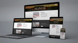 Visit the new Muncie Action Plan website. Viewable on all platforms. Photo provided