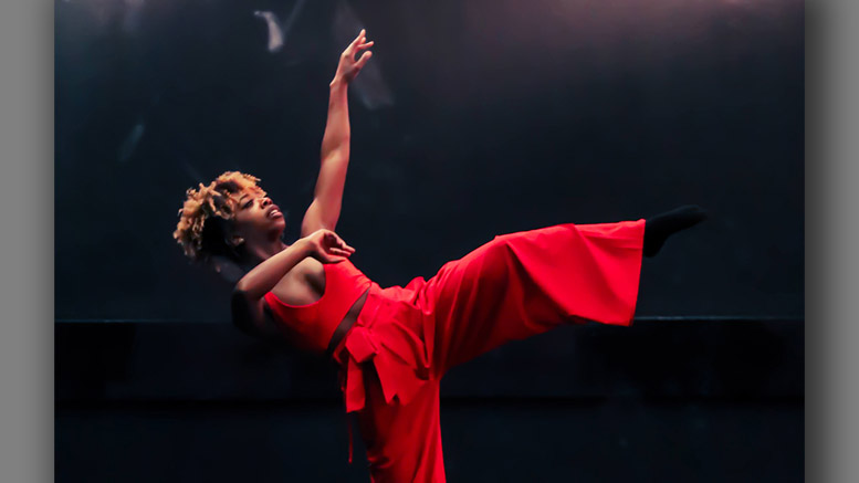 Veronica Silk performs with Peace, Love, and Dance. Photo Credit: T'Shauna Henry of CreativiTEA MeTea Ent. LLC
