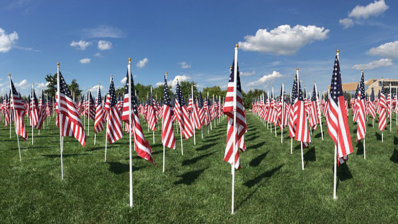 Flags of Honor is an annual Muncie Exchange Club project. Photo provided