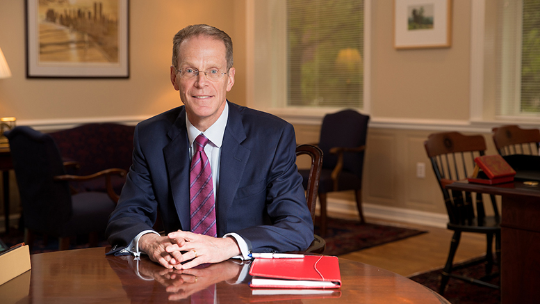 Ball State President Geoffrey S. Mearns. Photo courtesy of Ball State University.